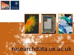 Research Data Oxford postcard