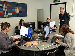 Text Encoding Class at the Digital Humanities Summer School 2014