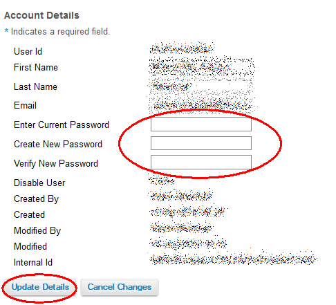how to change password on adam webmail