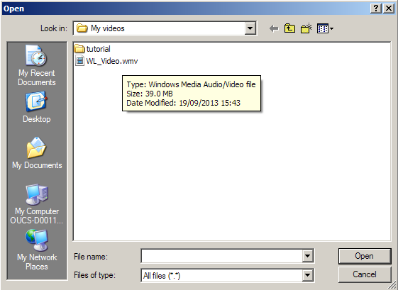 compress video file on a mac