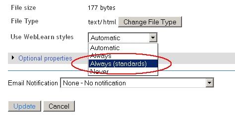 standards-mode