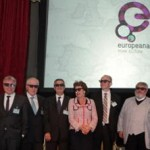 European politicians wearing 3D glasses