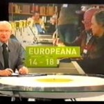 News broadcast in Belgium