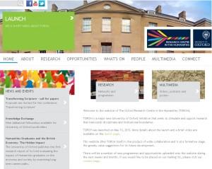 Screenshot of the Torch website
